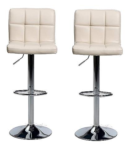Admirable Amazon Com Hongyan Pair Of Cuban Bar Stools Set With Creativecarmelina Interior Chair Design Creativecarmelinacom