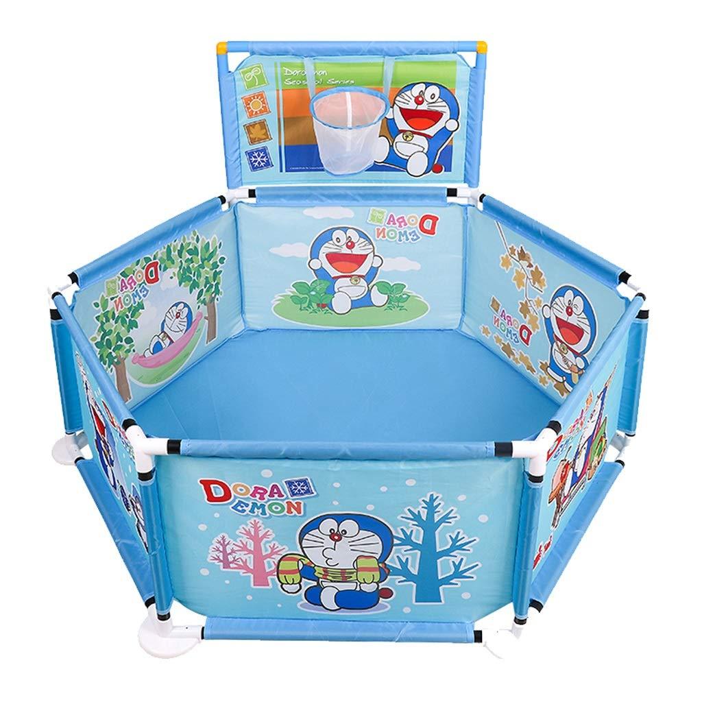 子供の遊びのフェンス屋内の幼児クロールマットガードレールの家の赤ちゃんの安全フェンスマリンボールプール JSFQ B07TB6NGYB