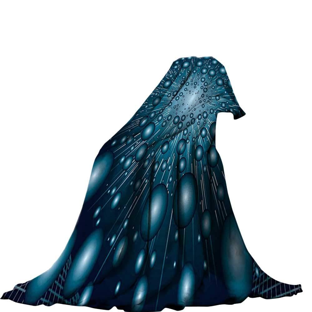 color08 60 x50  QINYAN-Home Lightweight Blanket (60 x36  Summer Quilt Comforter Fantasy Dragon Fighting with Medieval Knights War Scene in Gothic Fiction Dark bluee Grey Purplegrey.