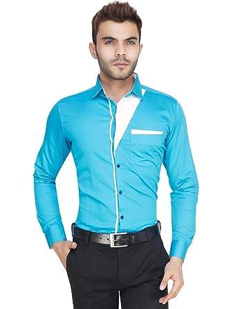 3eae335b Gadgets Appliances Men's Fashion Cotton Party Wear, Casual wear Men  Designer Silk Like Shirt (