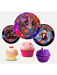 12 COCO Birthday Inspired Party Picks, Cupcake Picks, Cupcake Toppers #1