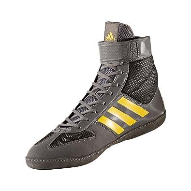 adidas Combat Speed 5 Wrestling Shoes Men\u0027s Boots (5 UK, Grey)