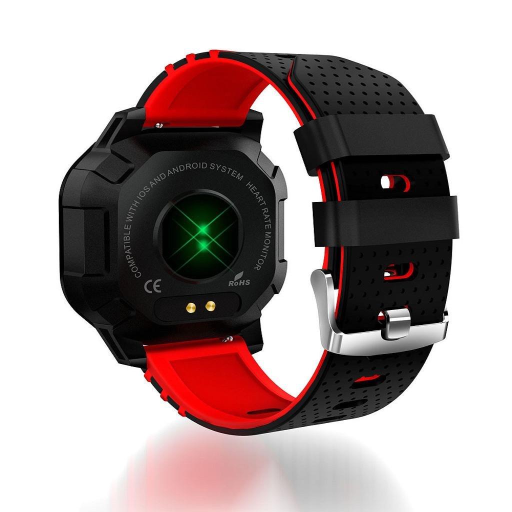 QUICKLYLY Smartwatch con Pulsómetro,Impermeable IP68 Reloj Inteligente,Fitness Tracker con Cronómetro,Monitor de sueño,Contador de Caloría,Calendario ...