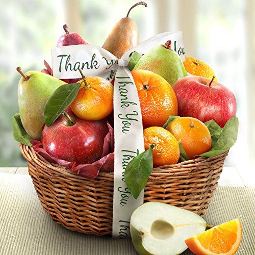 Golden State Fruit Orchard Favorites Gift Basket, Thank You
