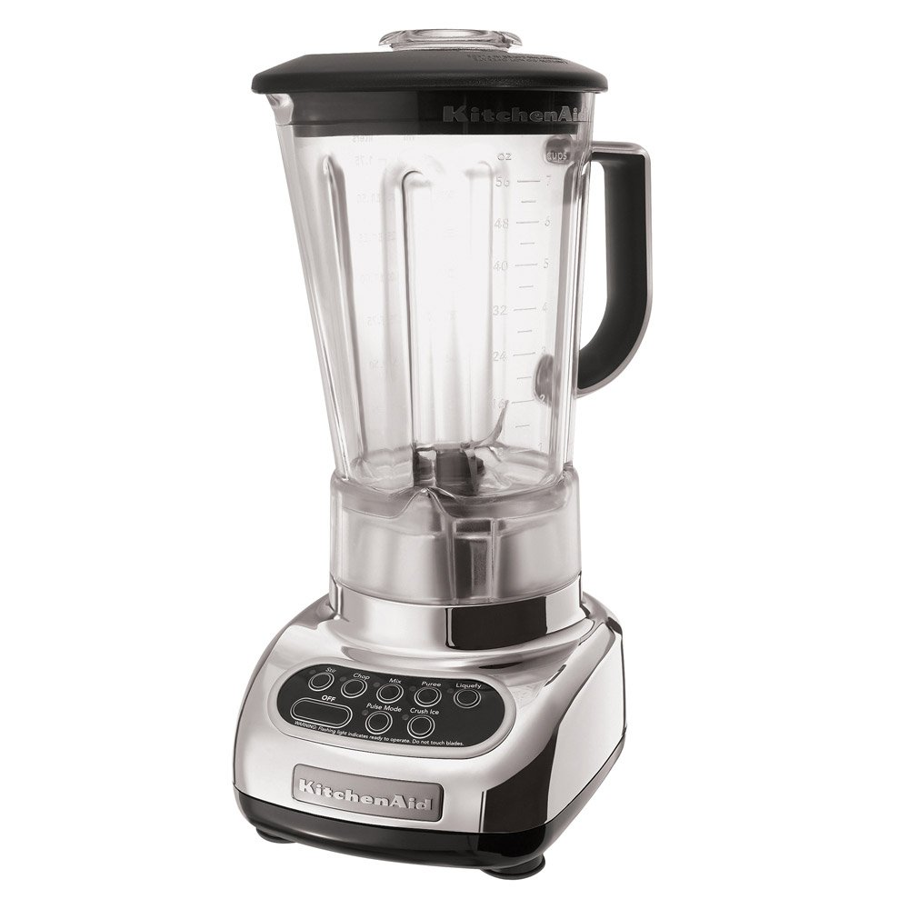 Amazon.com: KitchenAid KSB580CR Custom 5-Speed Blender, Chrome ...
