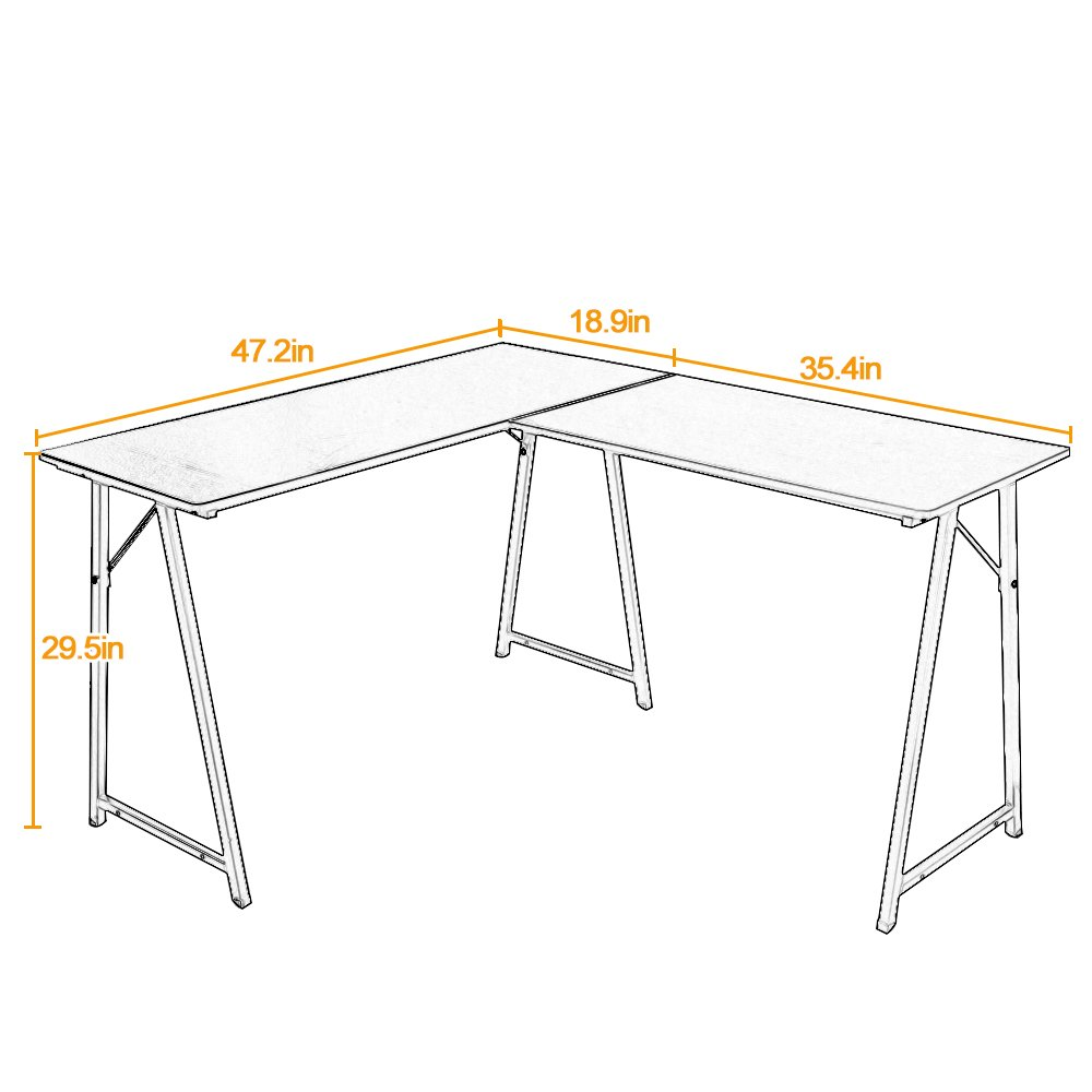word 39office desks workstations39and. Amazon.com : DlandHome L-Shaped Computer Desk Double Home Office PC Laptop Triangular Fixed T-Type Frame Corner Table Modern Workstation, Word 39office Desks Workstations39and