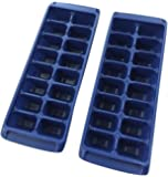 Rubbermaid Easy Release Ice Cube Tray Blue - Pack of 2