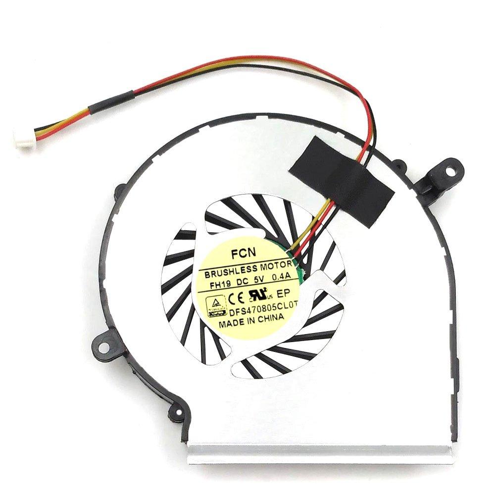 Cooler Para Msi Ge62 Ge72 Pe60 Pe70 Gl62 Gl72 Compatible Par