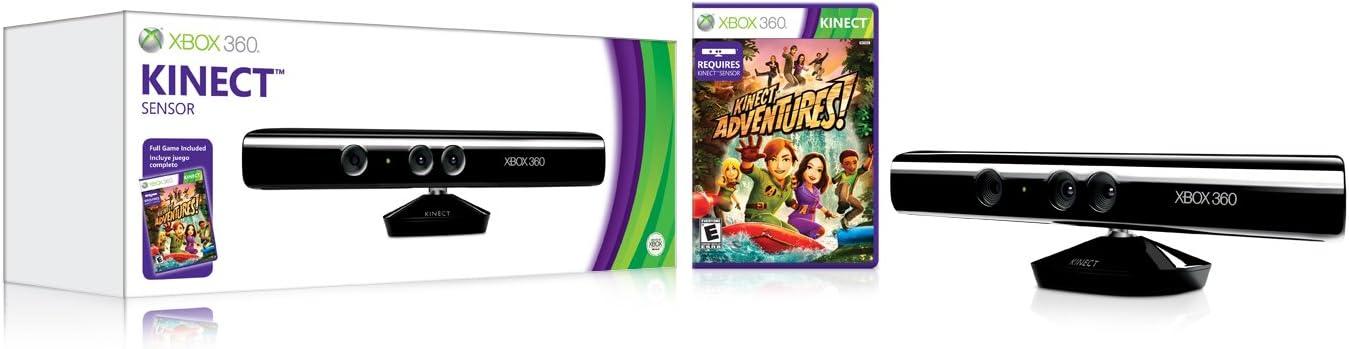 Amazon com: Kinect Sensor with Kinect Adventures!: Video Games