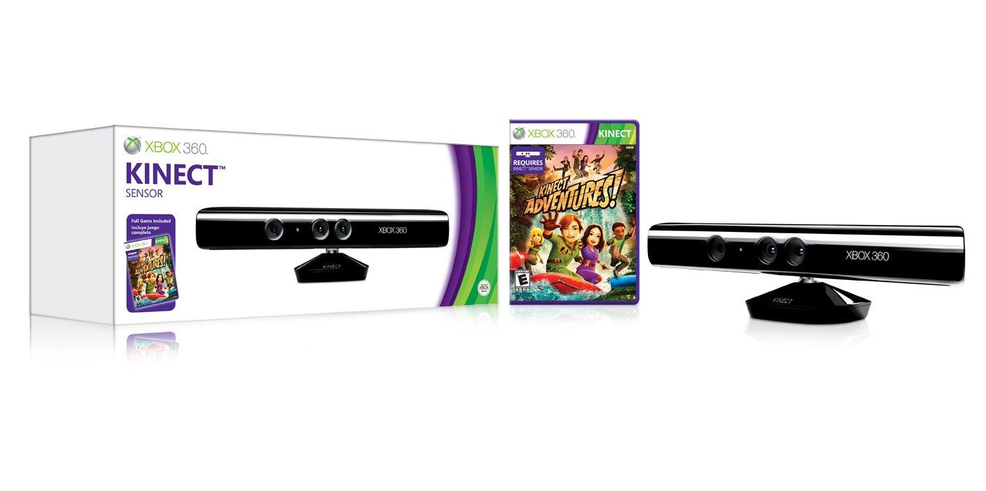 Kinect Xbox 360 Microsoft -Pack incluye Kinect sensor + Kinect adventures y Fruit Ninja - The Gunstringer .Español: Amazon.es: Música