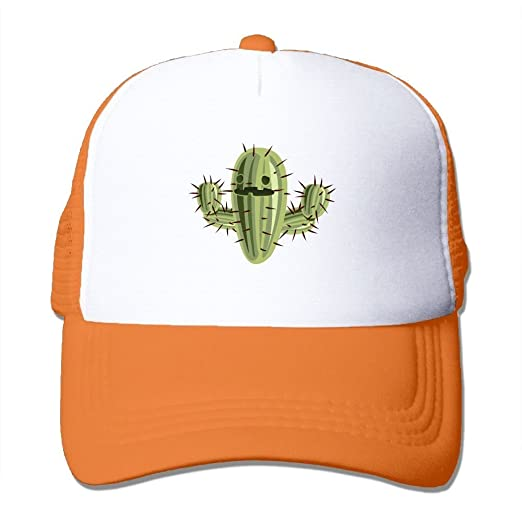 4a0921e285199 Image Unavailable. Image not available for. Color  LCUCE Cactus Ball Mesh  Baseball Cap Men Women Unisex Adult Adjustable Golf Trucker Hat