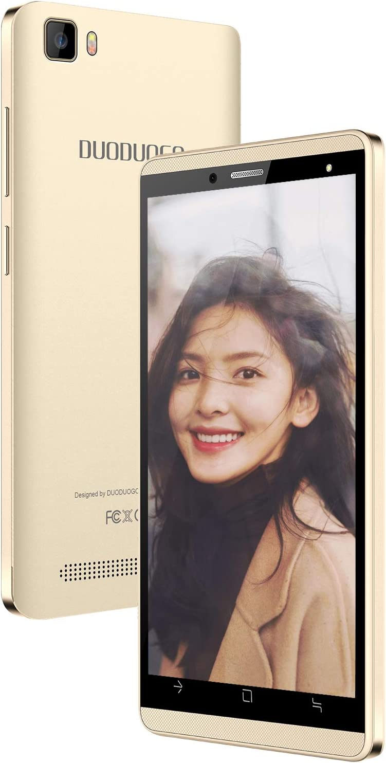 Moviles Buenos 4G, J3 (2020) 16GB ROM / 128GB escalables Android 9.0 5MP Cámara Doble Micro SIM / 1 MicroSD Móviles y Smartphones Libres Moviles Libres 4G WiFi/GPS/Bluetooth (Oro)