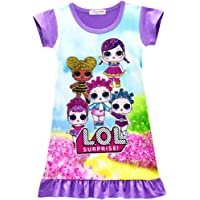 BT Willing Purple Nightie or Shortie Dolls Confeti Pop Nightie Vestidos para Niñas Lil Outrageous Littles Pijama