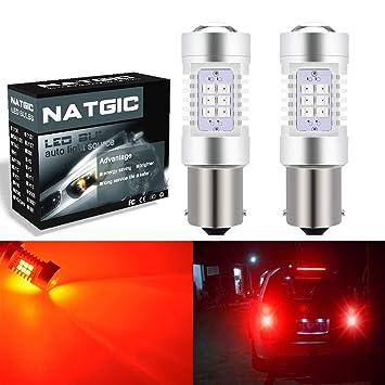 ngcat Auto bombilla LED 2pcs 1156 BA15S 7056 – 1141 1073 1095 chipsets 2835 21 SMD