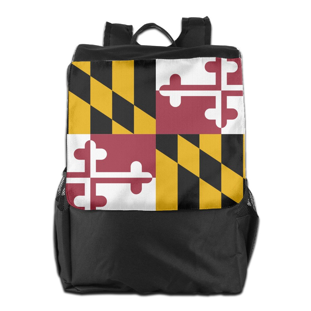 5620512da286 Maryland Of Flags Outdoor Travel Backpack Bags Daypack Bookbags ...