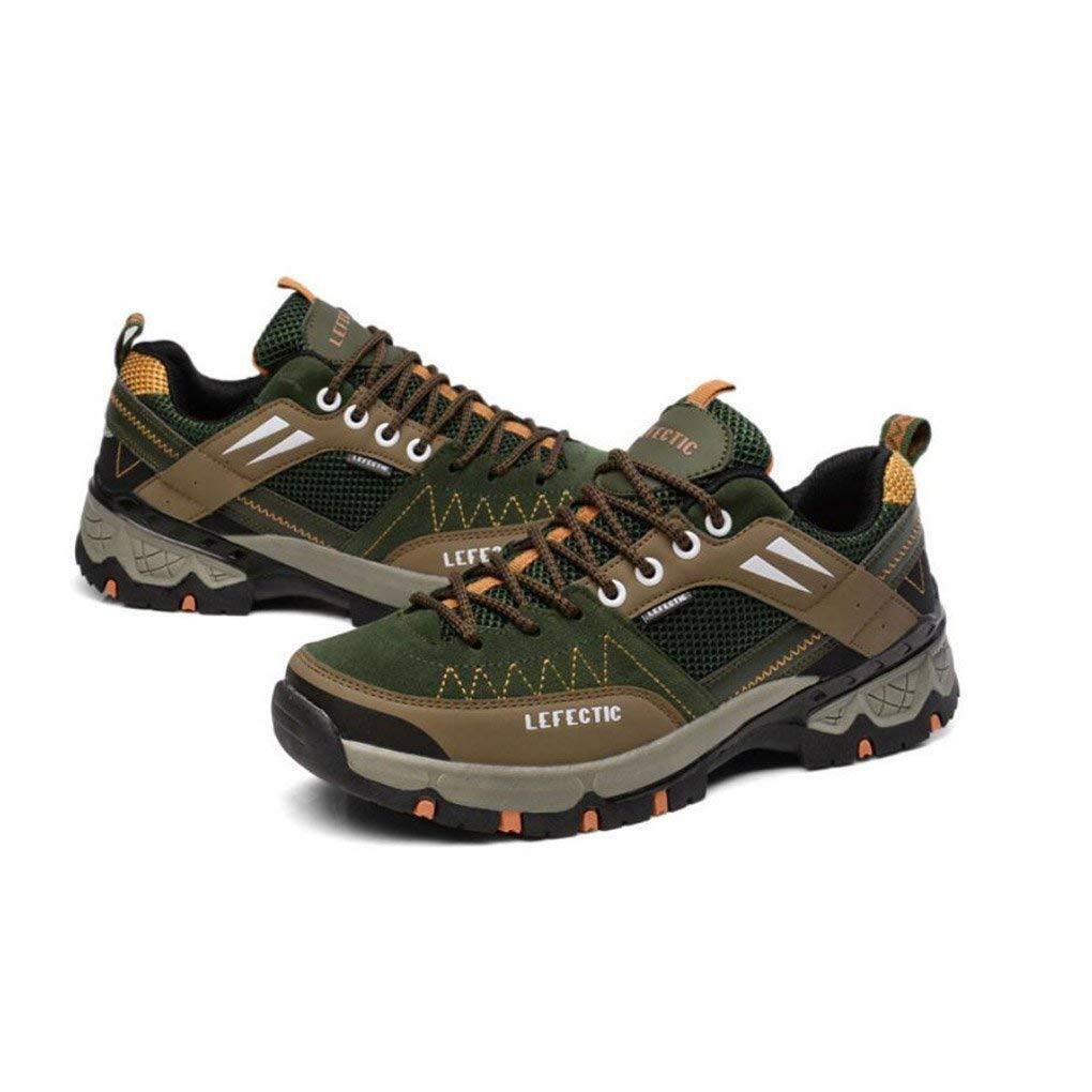 FuweiEncore Wandern, Herren Turnschuhe, Outdoor-Laufschuhe, Männer Bequeme Sportschuhe, Rutschfeste Tragen-resistan Schuhe (Farbe : EIN, Größe : 42) (Farbe : C, Größe : 42)