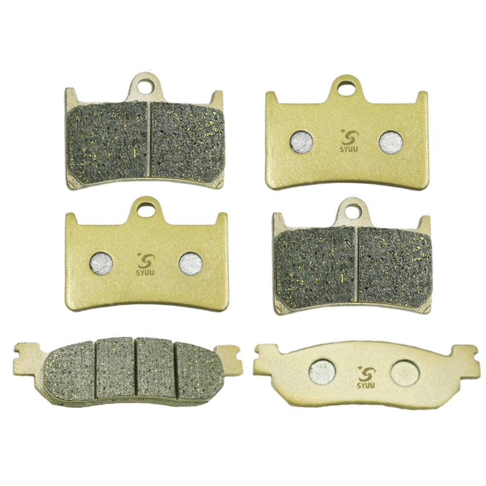 1 x Set of Front Motorcycle Brake Pads for 2005 Yamaha YZF-R6 600