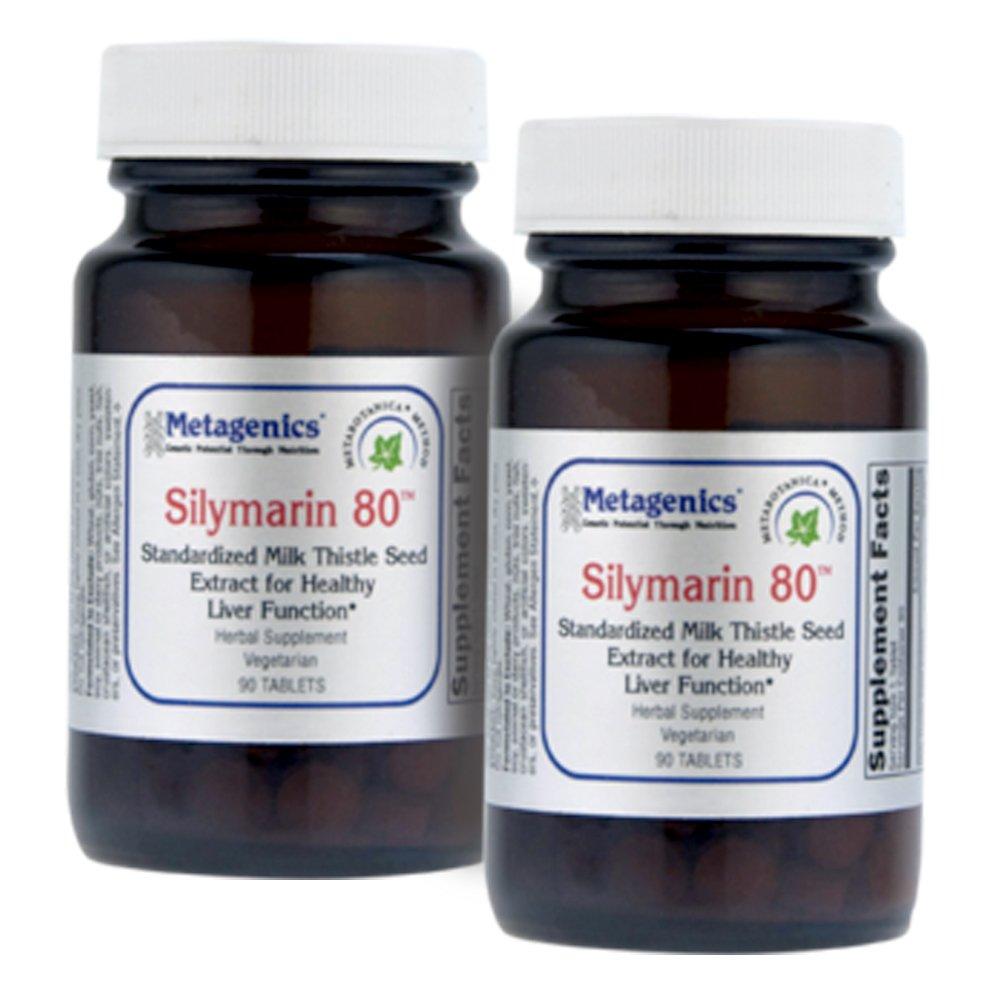 Metagenics Silymarin 80 Liver Protection Formula 90 Tabs - TwinPak