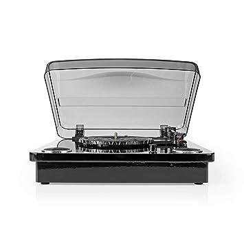 Nedis TURN300BK Tocadiscos | 18 W | Bluetooth ® | Conversión de ...