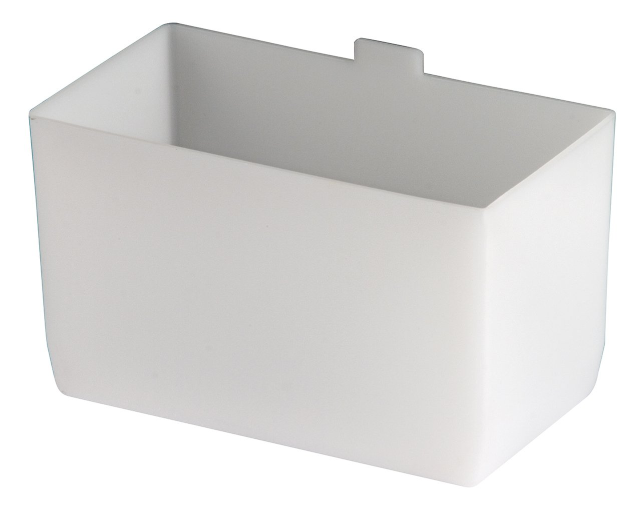 akro-mils 30102 2 – 3 / 4 Inch by 5インチby 3-inch Large Bin Cup forシェルフビン、ホワイト、24-case B0020A18AY