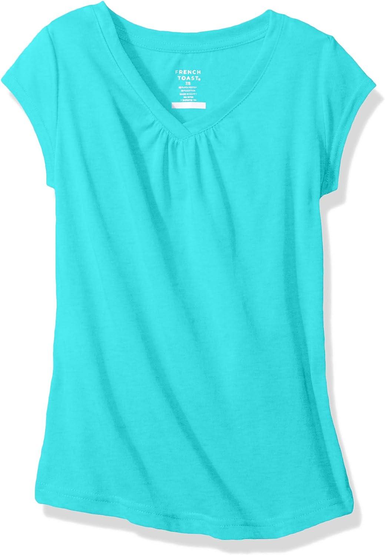 French Toast Girls Short Sleeve V-Neck Tee T-Shirt