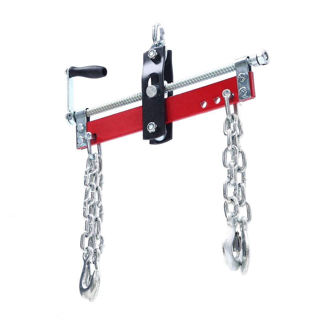 Release Valve Locking Bar vidaXL Red Off Road Motorcycle Lift 135kg with Foot Pad