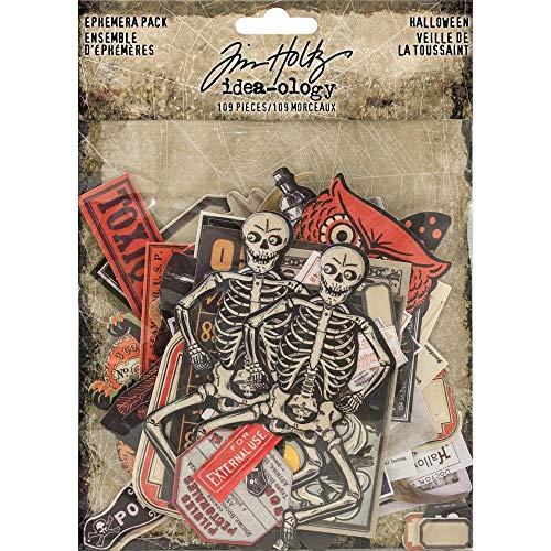 Tim Holtz Halloween Idea-Ology, Ephemera for $<!--$11.98-->