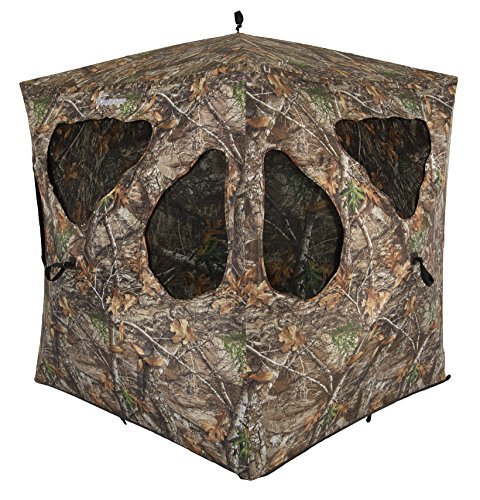 (Ameristep Silent Brickhouse Ground Blind Realtree Edge Frame Frame)