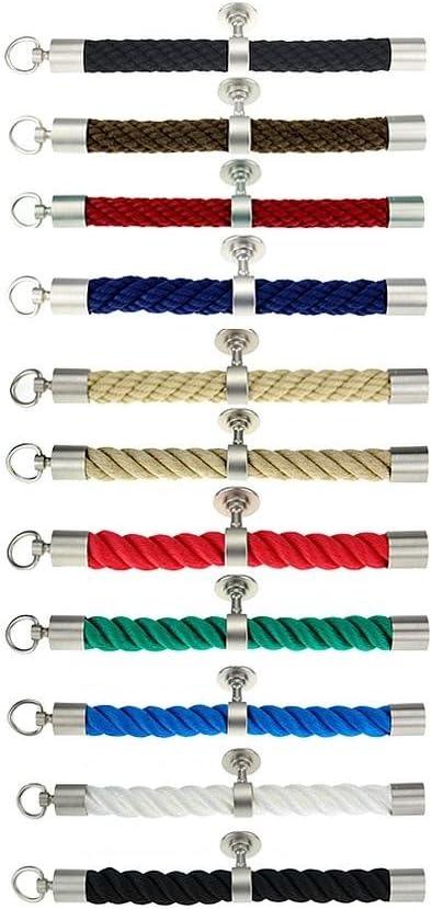 Kanirope/® Seilendkappe mit HakenNickel matt f/ür /ø28mm /ø30mm Handlaufseile Absperrseile Treppenseile