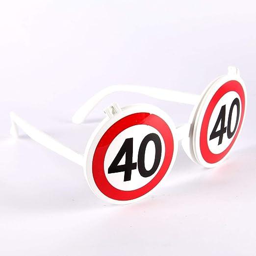 Udo Schmidt Divertido Gafas de Sol para 40 cumpleaños ...