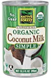 Native Forest Coconut Milk Simple, 13.5 oz
