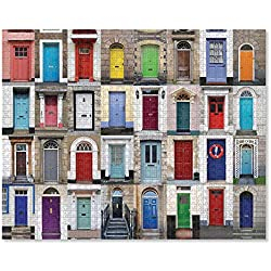 """Melissa & Doug Knock Knock Cardboard Jigsaw Puzzle (Durable Cardboard, for Kids 12 and Up, 1,000 Pieces, 29"""" L x 23"""" W, Great Gift for Girls and Boys - Best for 12, 13, 14 Year Olds and Up)"""