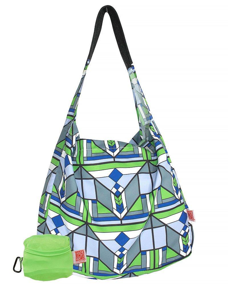 Frank Lloyd Wright Lake Geneva Reusable Shopping Tote Bag
