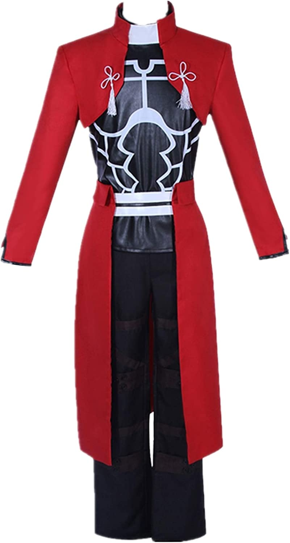 Amazon.com: Fate Grand Order Fate Stay Night Red Archer Cosplay Emiya Shirou Cosplay Costume Halloween Costume Full Set: Clothing