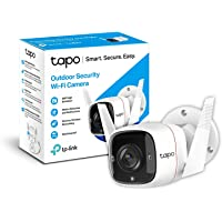 TP-Link TAPO - 1296Px Camara Vigilancia wifi Exterior / Interior, IP66 con Visión Nocturna, Detección de Movimiento y…