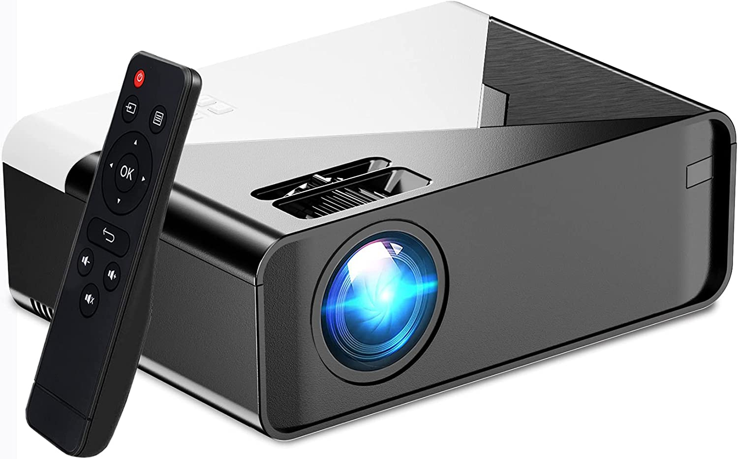 WiFi Projector, Betife Portable Mini Projector for Home Outdoor Movies, 200
