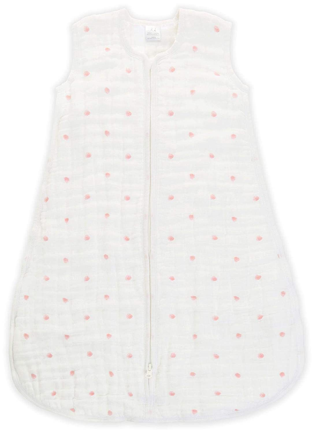 Amazon.com: aden + anais Multi-Layer Sleeping Bag - Lovebird - Rose Water Dot - 18-36m: Baby