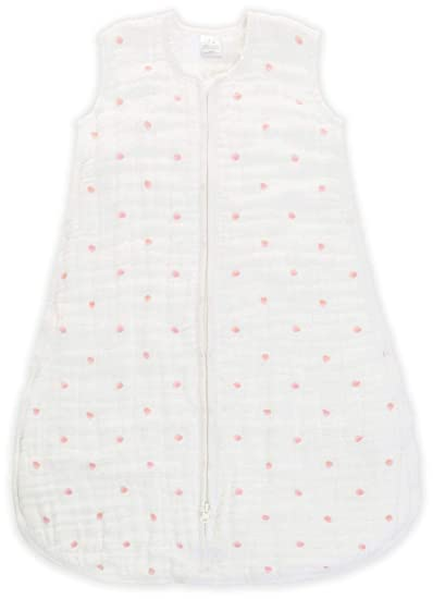 aden + anais Multi-Layer Sleeping Bag - Lovebird - Rose Water Dot - 18