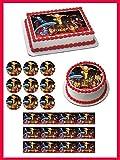 "AVATAR Airbender - Edible Cupcake Toppers - 2"" cupcake (12 pieces/sheet)"