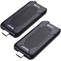 measy Wireless HDMI Extender, 5GHz HDMI Transmitter and Receiver for TV/AV, Support 1080P 60Hz Full HD with IR Remote…