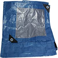 Dogotuls TL4001 Lona Polietileno, color Azul, 5 x 7'