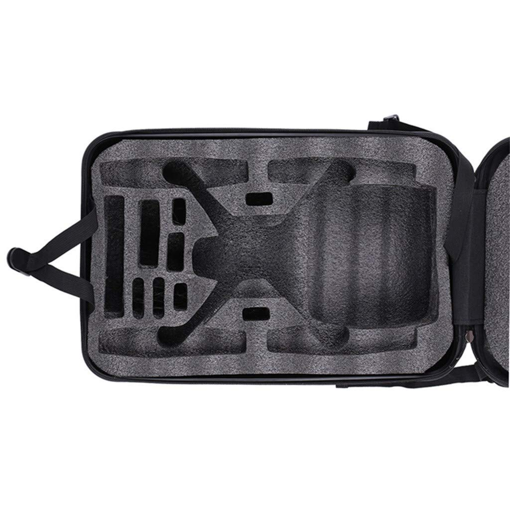 DDLmax Black ABS Hard Shell Backpack Case Bag for Hubsan H501S Quadcopter by DDLmax (Image #6)