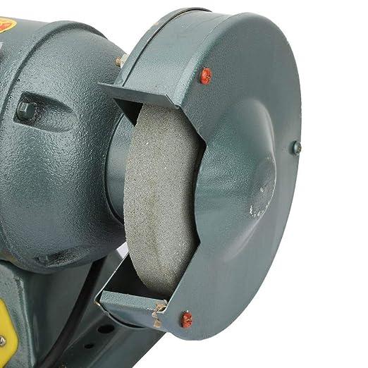 EU Plug 220V M/áquina de pulido de mesa pulidora el/éctrica multiusos de 6 pulgadas 370W