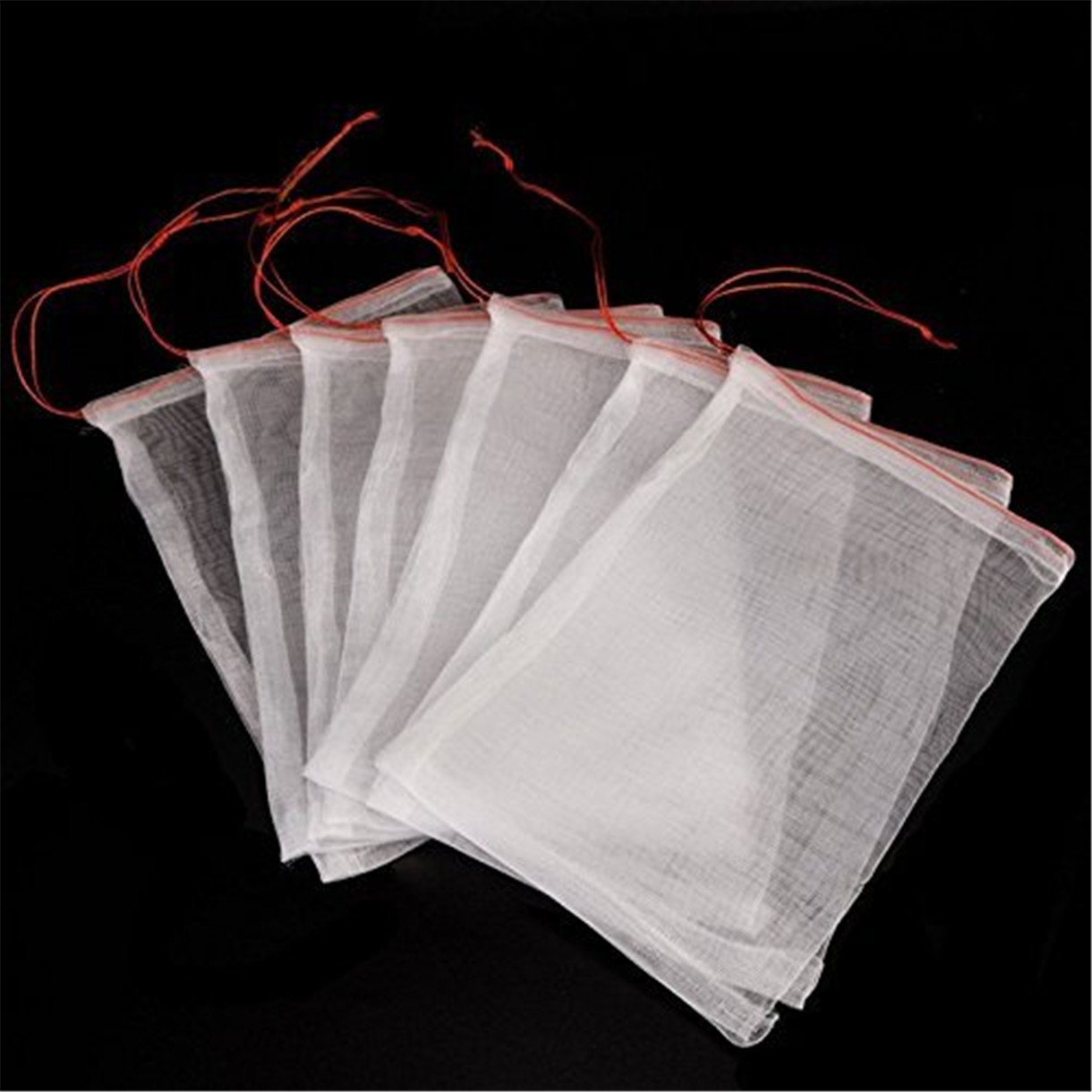 Queque Shine 50 bolsas de protección para frutas de jardín ...