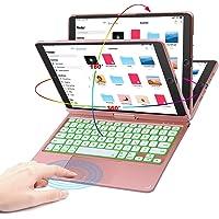 Funda con teclado táctil para iPad con trackpad para iPad de 10,2/10,5 pulgadas, iPad de 8ª generación (2020)/7ª…