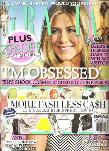 Grazia Magazine - Grazia Magazine (more fashion less cash, March 19 2012)