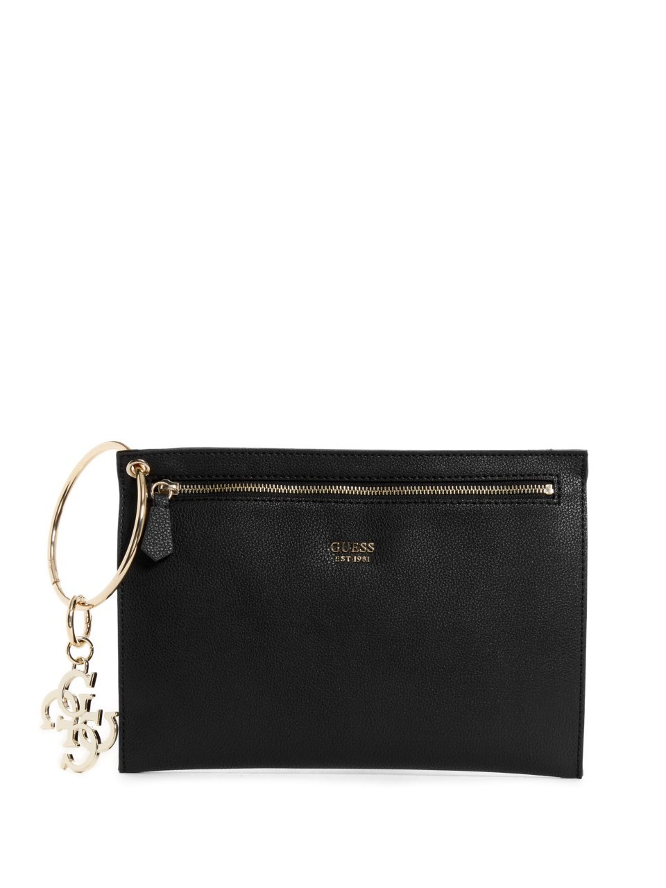 Guess Women HWVG6853260 Daily Clutch Bag Black Size: One Size