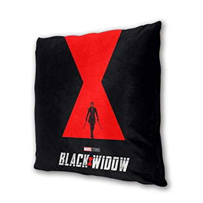 "NOT BRAND Black Widow Outdoor/Indoor Cushions 18.5""x 18.5"", 2 Pieces: Home & Kitchen"