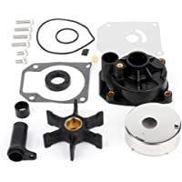 Aintier Water Pump Impeller Kit Fits for Honda 8 9.9 15 20 HP Outboard Replacement with 06192-ZW9-A30