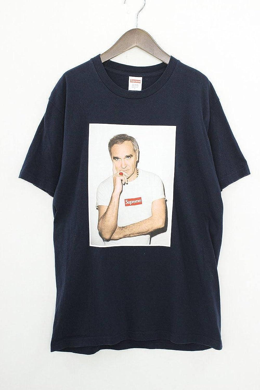 (シュプリーム) SUPREME 【16SS】【Morrissey Tee】フロントフォトプリントTシャツ(L/ネイビー) 中古 B07FM3SGXF